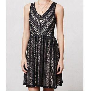 Moulinette Soeurs Myrna Black Lace Dress S